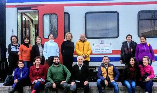 Antalya'dan 180 kişi katıldı