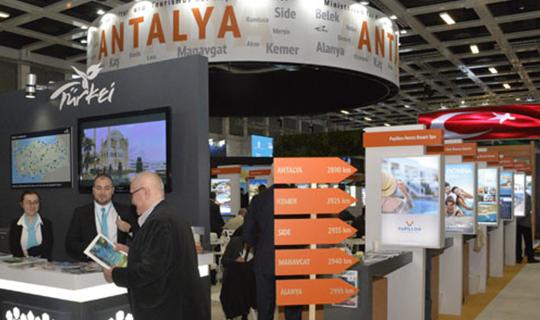 Antalya'ya yoğun talep