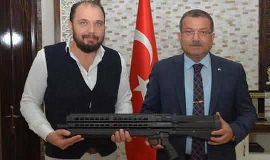 Antalya'da Üretildi Polise hibe edildi