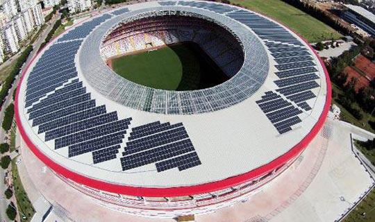 Antalyaspor Stadyumu örnek oldu