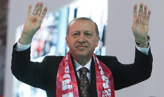 Erdoğan AK Parti İl Kongresi'nde konuştu