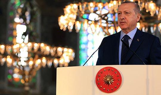 Erdoğan'dan AKM açıklaması