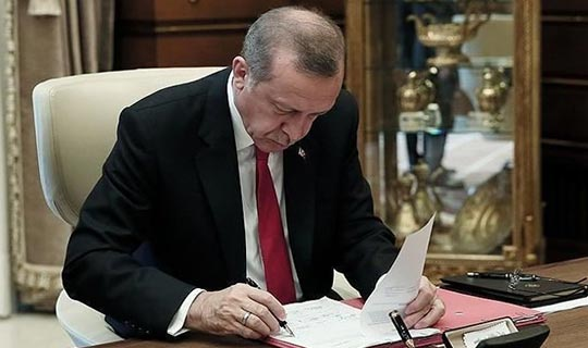Erdoğan o yasayı onayladı