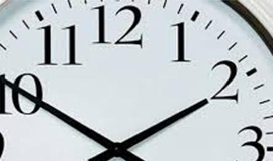 Şu an saat kaç ?