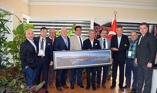 TGK yönetiminden Başkan Gül'e ziyaret