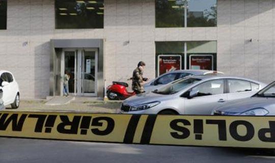 Antalya'da bankayı soymaya çalıştı