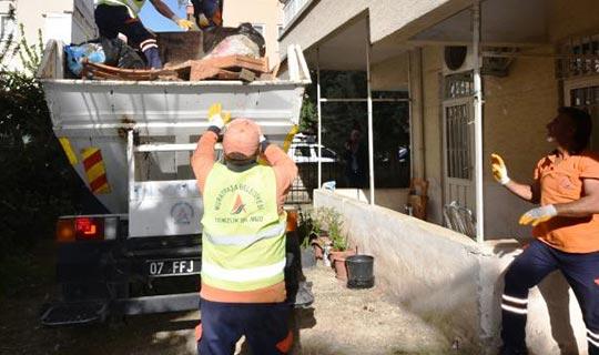 Antalya'da evi görenler şok oldular