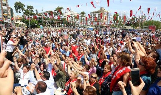 Antalya'da oturma eylemi