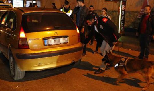 Antalya'da polisten 'şok' uygulama