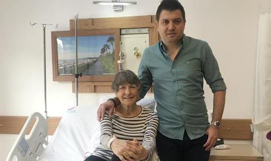 Antalya'da talihsiz kaza