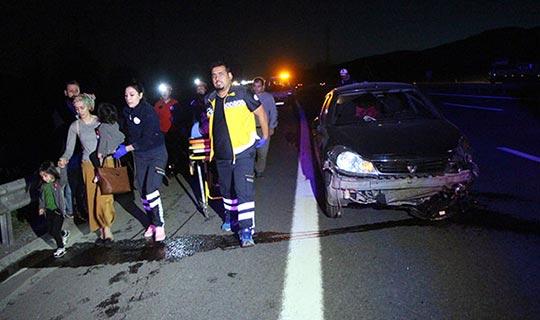 Feci kazada 7 kişi yaralandı