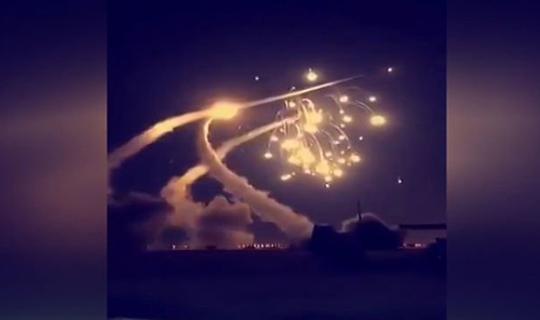 Gece yarısı Suriye'ye saldırı
