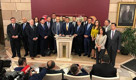 15 milletvekili CHP'ye geri döndü