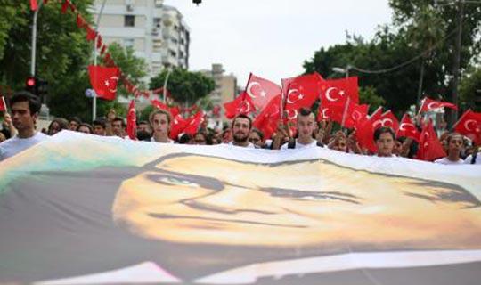 19 Mayıs Antalya'da coşkuyla kutlandı