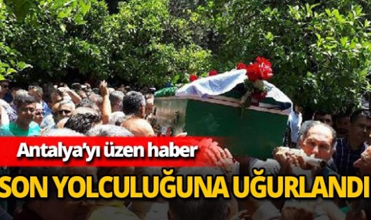 Ali Güllüpınar son yolculuğunu uğurlandı