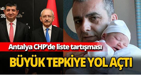 Antalya CHP'de liste tartışması