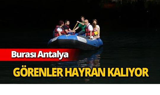 Antalya'da görenler hayran kalıyor