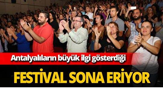 Antalya'daki festival sona eriyor