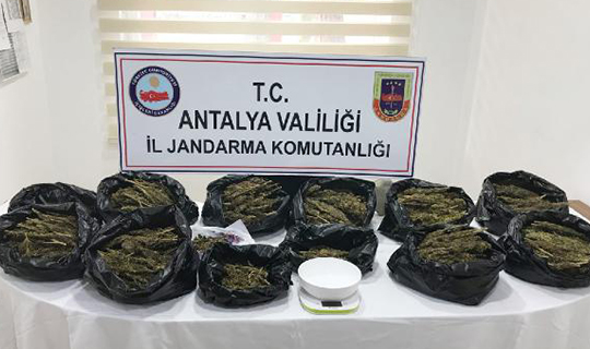 Antalya'daki operasyonda ele geçirildi