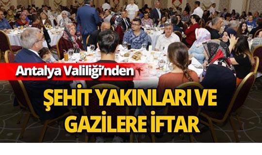 Antalya Valiliği'nden iftar