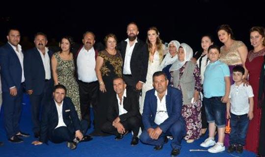 Antalyalı turizmci evlendi