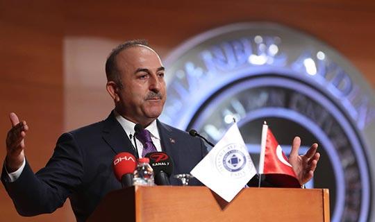 Bakan Çavuşoğlu'ndan gerilim ile ilgili açıklama