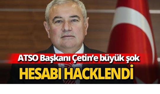 Başkan Çetin'e büyük şok