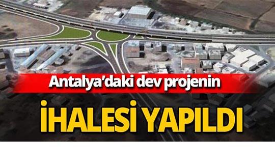 Dev proje 150 milyon liraya ihale edildi