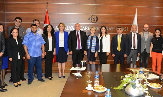 İsveçli yatırımcıların gözü Antalya'da