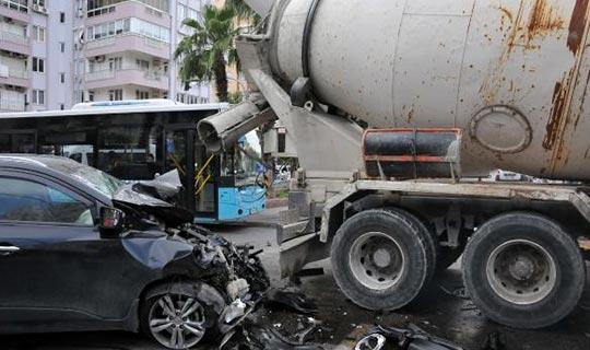 Korkunç kazadan mucize kurtuluş
