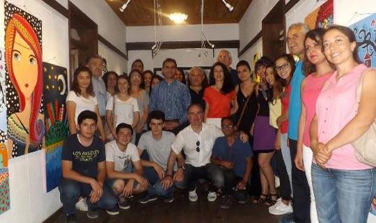 Liseli öğrencilerden Gençlik Sergisi