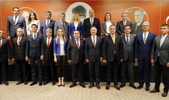 MHP Antalya milletvekili adaylarını tanıttı