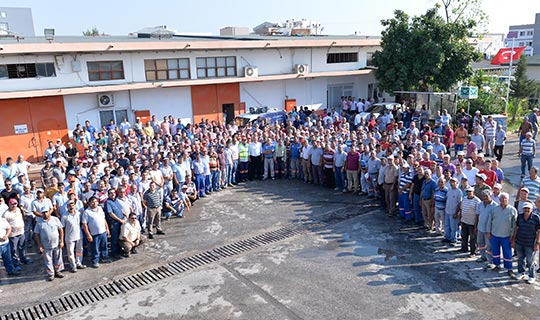 Muratpaşa'dan işçilere promosyon