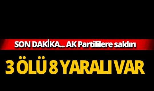 AK Partililere saldırı