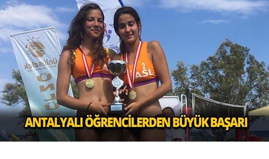 Antalyalı öğrenciler birinci oldu
