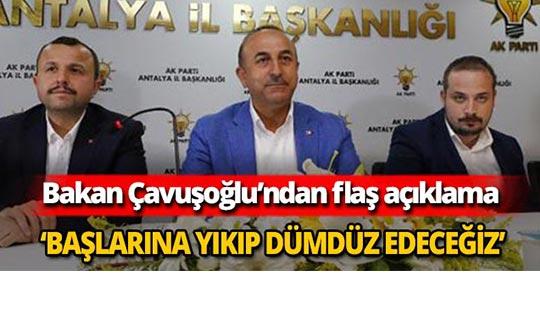Bakan Çavuşoğlu'ndan flaş Kandil açıklaması