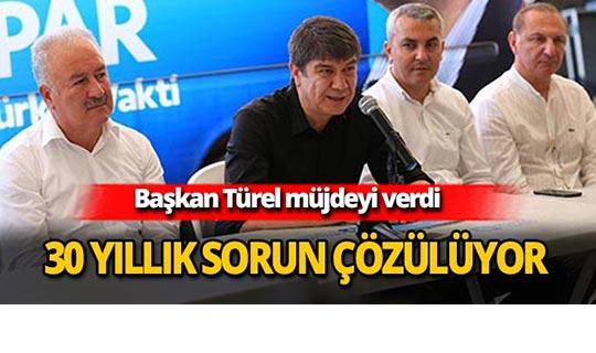 Başkan Türel tarih verdi
