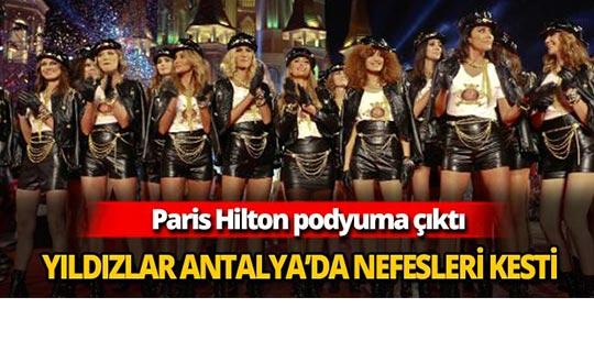 Yıldızlar Antalya'da nefesleri kesti