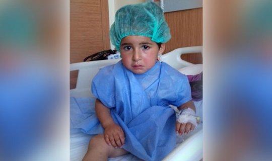 3 yaşındaki Kübra kör kaldı
