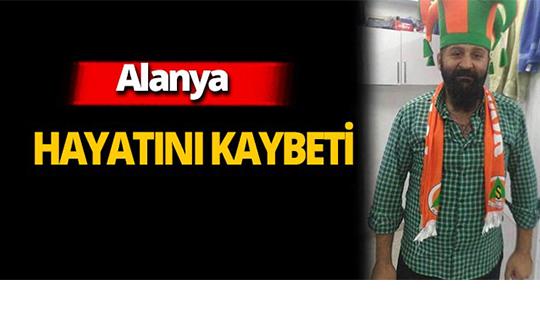 Alanya'daki feci kazada hayatını kaybetti