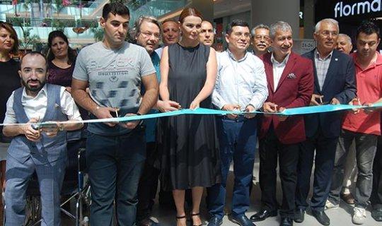 """""""Azerbaycan'dan Antalya'ya Sanat Köprüsü Sergisi"""" açıldı"""