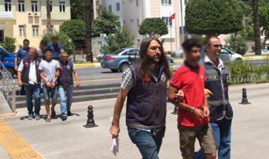 Antalya'da hırsızlığa 3 tutuklama
