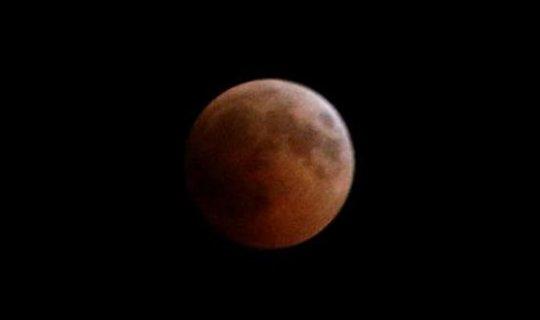 Antalya'da 'Kanlı Ay Tutulması'