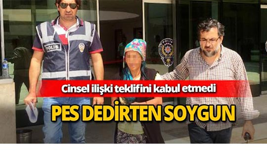 Antalya'da pes dedirten soygun