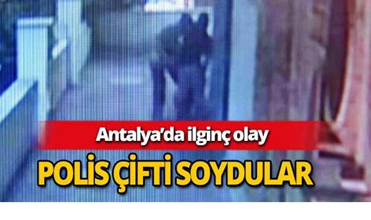 Antalya'da polis çifte soygun