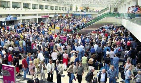 Antalya'ya gelen yabancı ziyaretçi sayısında şok artış