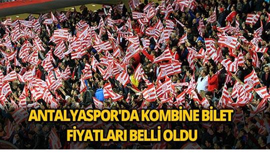 Antalyaspor'da kombine bilet fiyatları belli oldu
