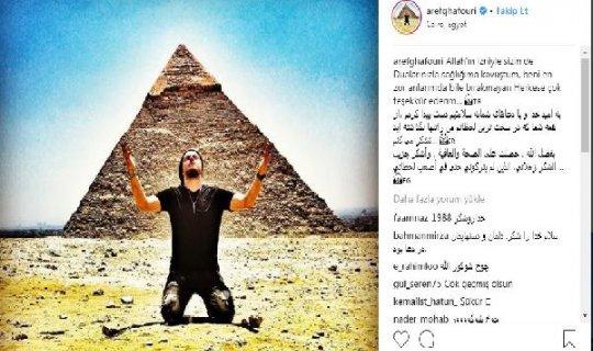 Aref'ten 'sağlığıma kavuştum' paylaşımı