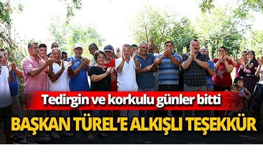 Başkan Türel'e alkışlı teşekkür