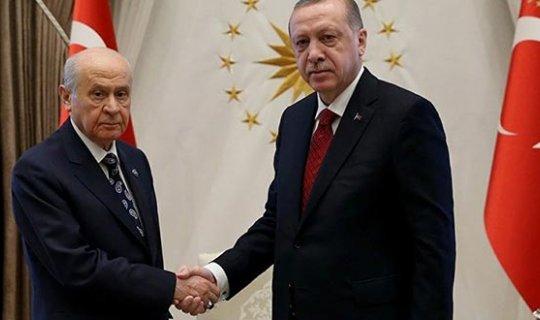 Cumhurbaşkanı Erdoğan, Bahçeli'yi kabul edecek